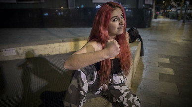 Dafne Cepeda: «La mujer 'wrestler' ya no es modelo, sino atleta»