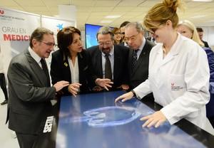 La Universitat de Vic incorpora una taula de visualització anatòmica digital en 3D