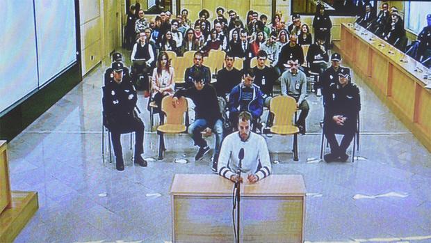 Judici dels vuit acusats dAlsasua.