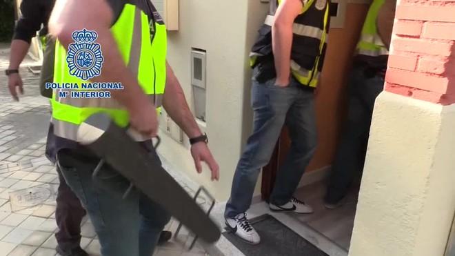 La Policía Nacional ha detenido en Madrid, Barcelona, Pamplona y Mallorca a doce ciudadanos colombianos.