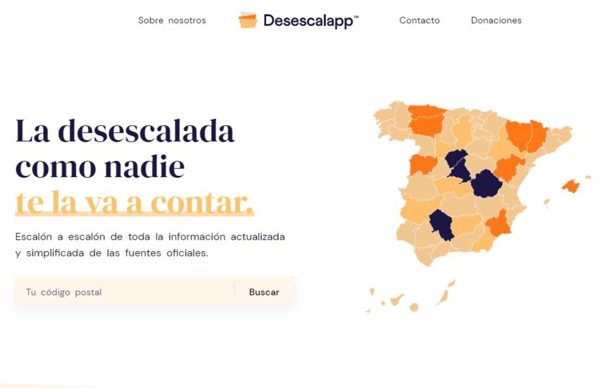 Desescalapp: la aplicación que te ayuda a saber qué hacer en cada fase de la desescalada