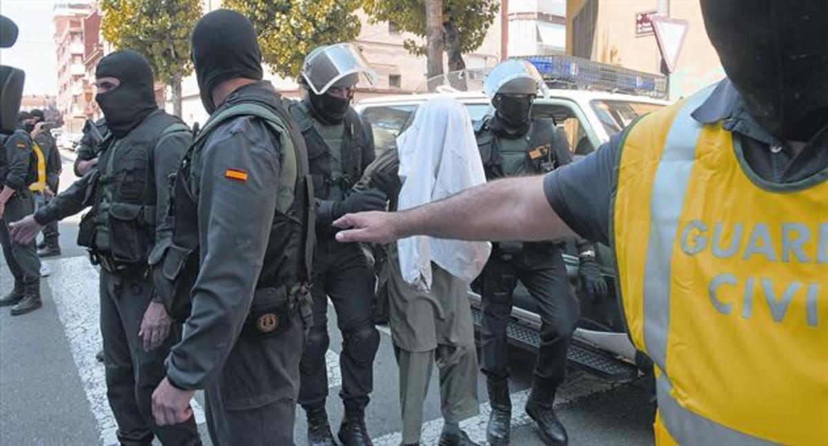 Detención en Lleida de presuntos yihadistas.