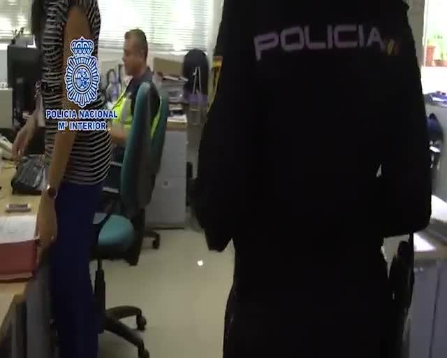 Imatges darxiu cedides per la Policia Nacional.