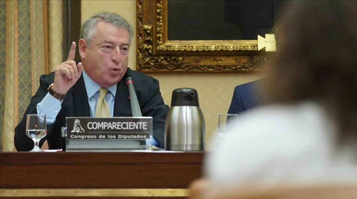 José Antonio Sánchez, en una comparecencia en el Congreso de los Diputados, en mayo pasado.