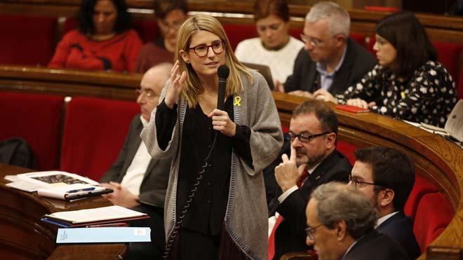 Elsa Artadi abre la puerta a una reunión entre Sánchez y Torra siempre que exista contenido político.
