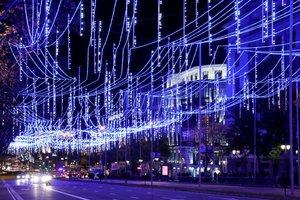 GRAF4919 MADRID 23 11 2018 - Vista de la calle Alcala de Madrid durante el tradicional encendido de luces de Navidad EFE Ballesteros
