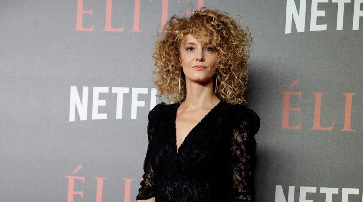 Esther Acebo, actriz de 'La casa de papel' (Netflix).