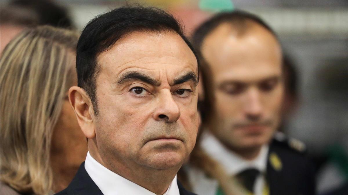 El expresidente de Nissan,Carlos Ghosn, en una foto de noviembre del 2018.