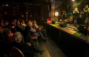 El grupo Jazzlantida, en la sala Music Hall, el pasado 19 de febrero.