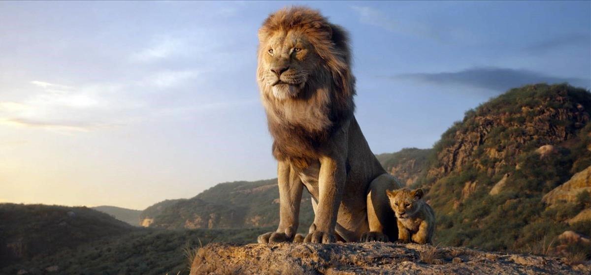 Fotograma de 'El rey león'.