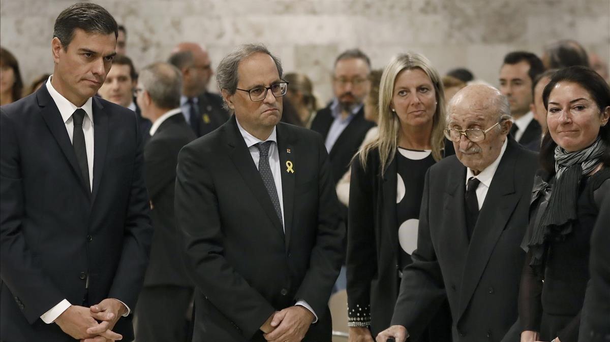 El funeral de la Caballé reúne a todo el mundo de la cultura y la política