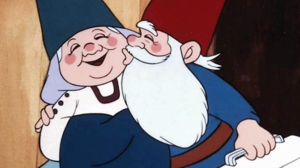 David el Gnomo, en una imagen de la serie de dibujos animados.