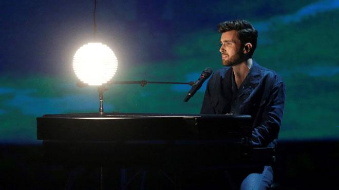 Holanda y Suecia, a por el triunfo en la gran final de Eurovisión 2019. En la imagen,Duncan Laurence, el concursante holandés.
