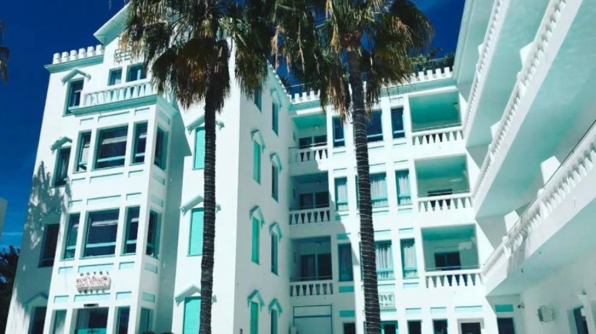 El hotel ibicenco adquirido por Leo Messi.