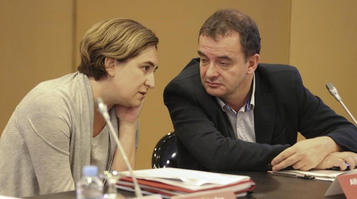 ERC superaria Colau a les municipals, segons el baròmetre de Barcelona