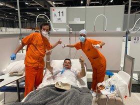 Primera alta d'un pacient intubat i extubat a l'uci d'Ifema