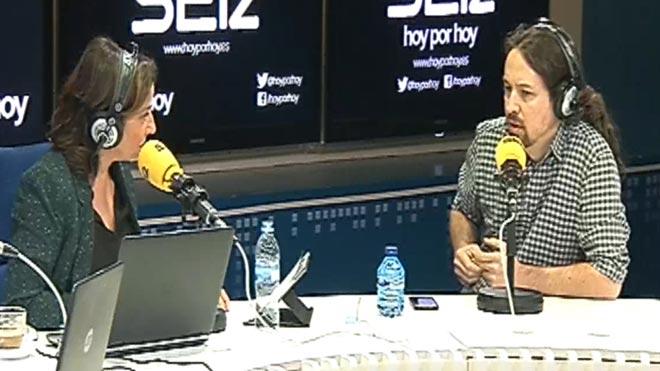 Iglesias no apoyará a Sánchez para patriotismos extraños con Gibraltar.