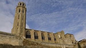 Imagen de la Seu Vella de Lleida.