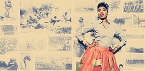 Imany en una imagen promocional de su nuevo álbum.