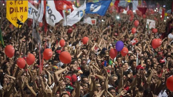 Un 68% de los brasileños quieren el juicio político contra Rousseff