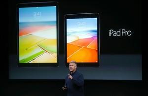 El iPad Pro de 12,9 pulgadas y el nuevo de 9,7 pulgadas.