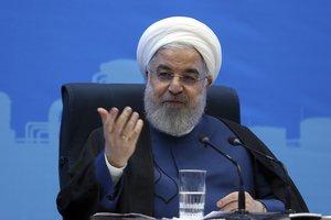 El presidente iraní, Hassan Rouhani. AP