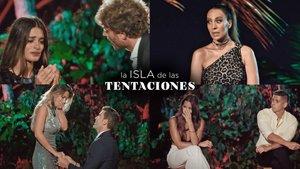 Els momentassos de 'La isla de las tentaciones': 'edredonings', ruptures i l'inoblidable «¡Estefanía!»