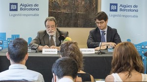 Presentación del Informe de Sostenibilitat 2017 de Aigües de Barcelona.