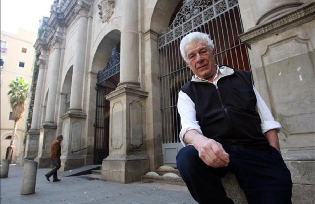 John Berger, durante una visita a Barcelona en el 2009.