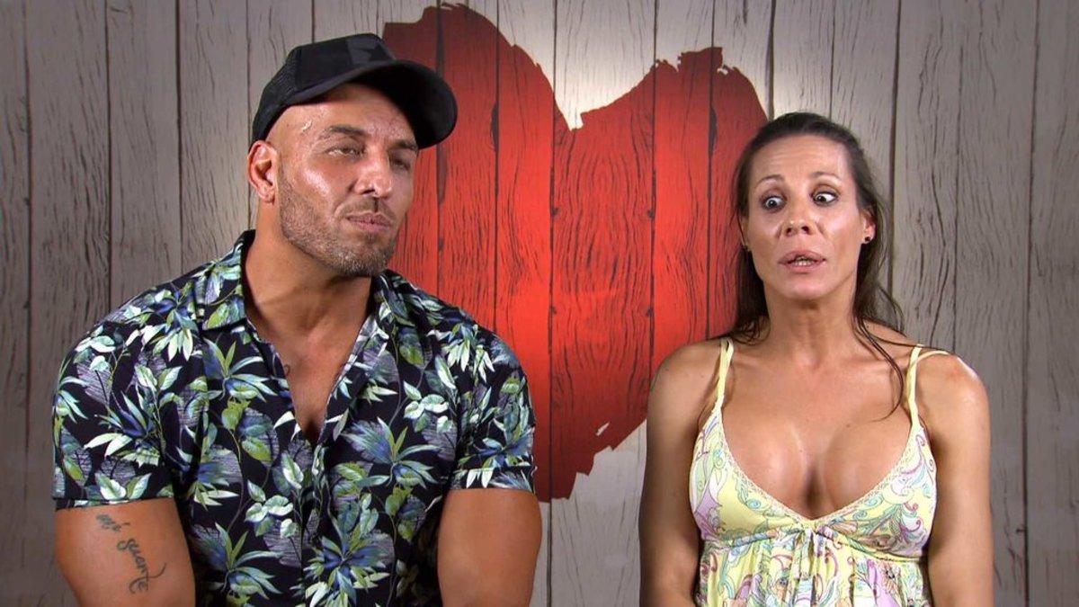 Jose e Isabel en 'First Dates'.