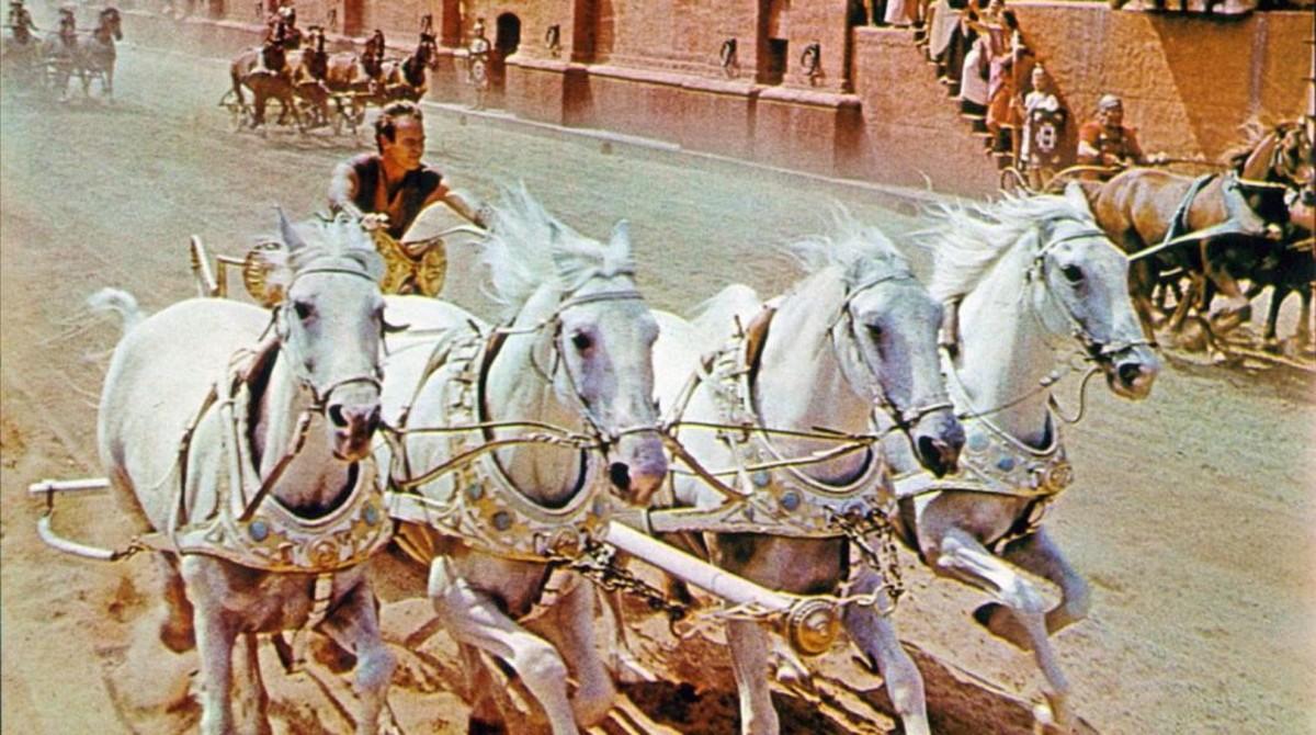 Fotograma de la película Ben-Hur