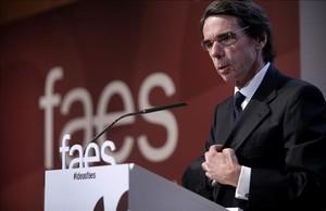 El expresidente del Gobierno,José María Aznar.