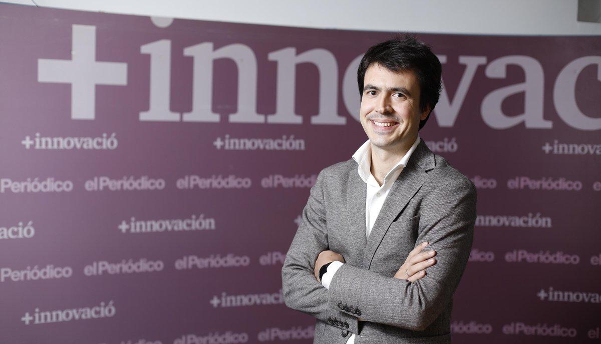 Entrevista con eldirector general de Just Eat en España, Patrik Bergareche.