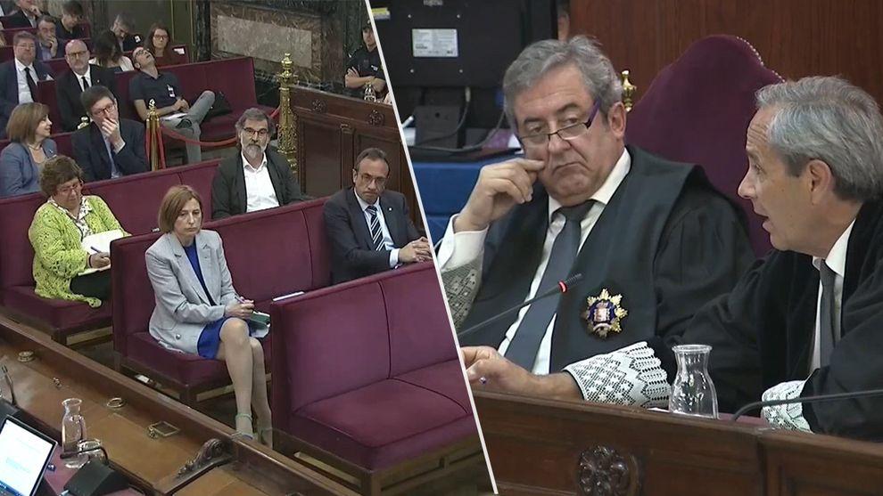 """Las conclusiones de la fiscalía: """"en Catalunya hubo un golpe de Estado""""."""