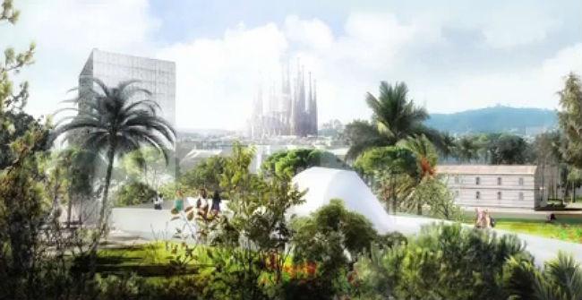 Vídeo del proyecto Canòpia urbana, ganador del concurso de las Glòries.