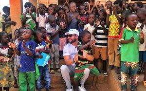 Miguel Poveda en Burkina Faso.