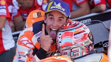 Márquez y Honda esperan que a Lorenzo se le vaya el calentón