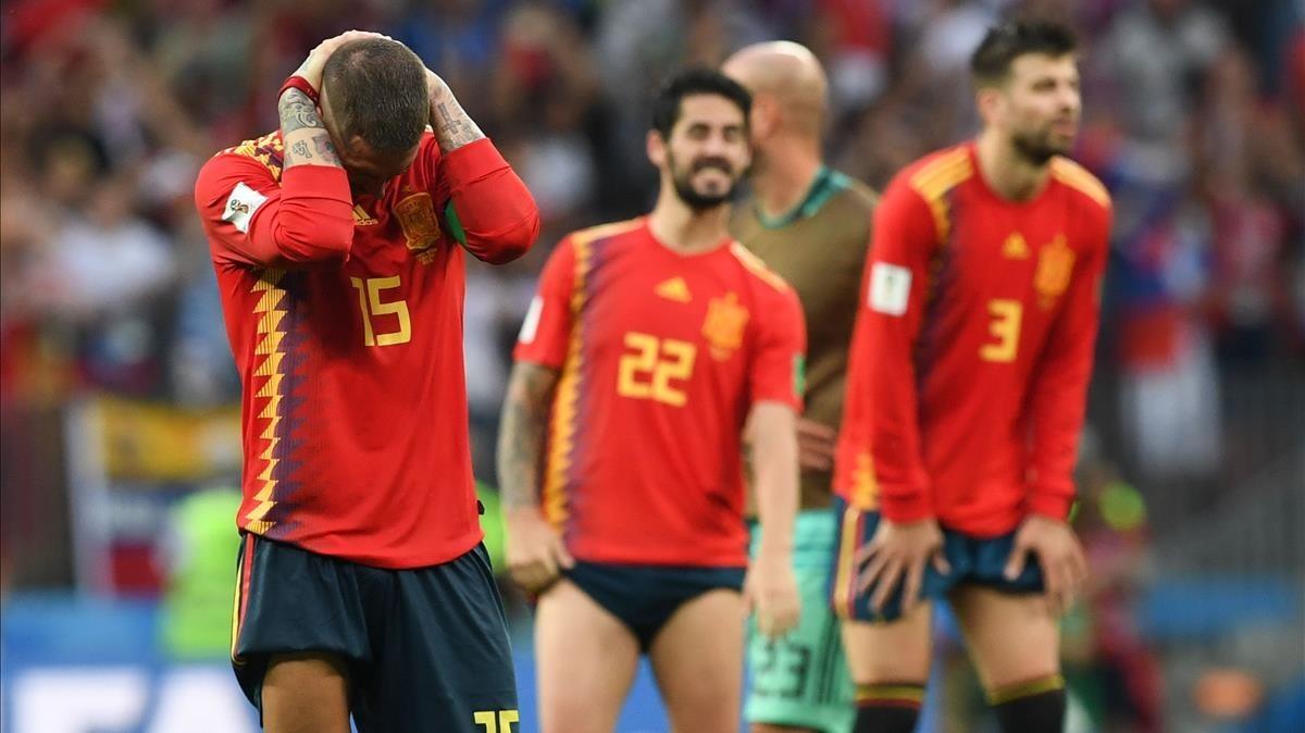 Mayúscula decepción para España.