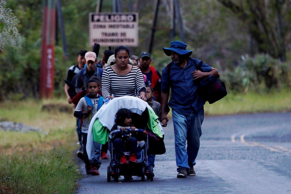 La Cruz Roja delegada en Guatemala brindó atención prehospitalaria a 1.046 migrantes.