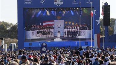 Las estrellas de Europa y EEUU llevan a París la batalla por la Ryder