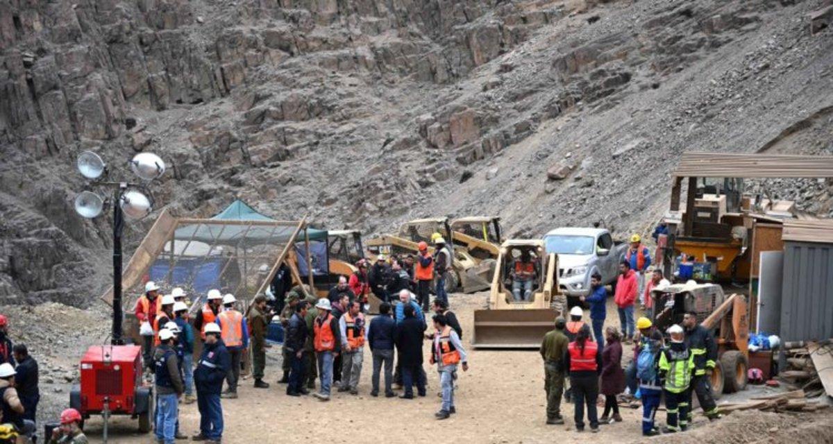 Chile: al menos un minero muerto en el derrumbe de una mina en Atacama