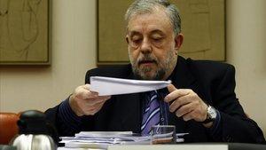 El secretario de Estado de Seguridad Social,Octavio Granado