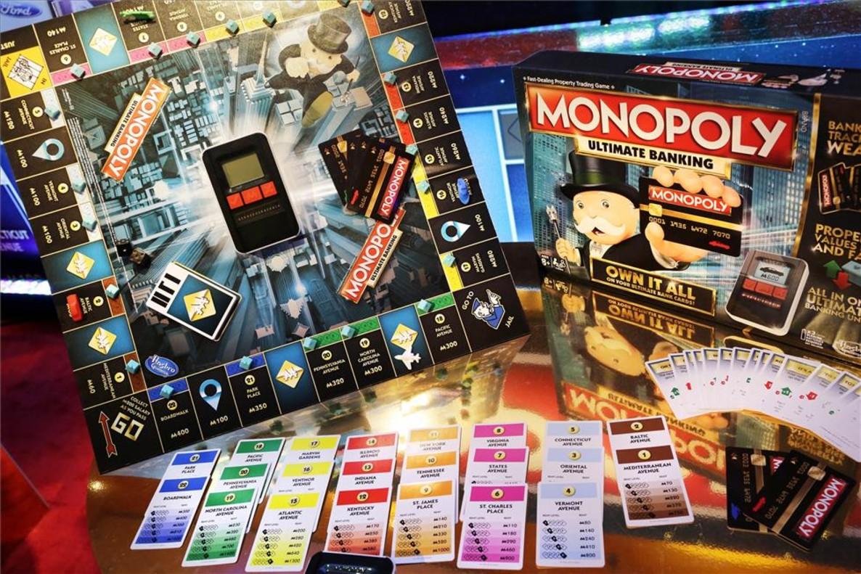 Un Monopoly, de Hasbro.