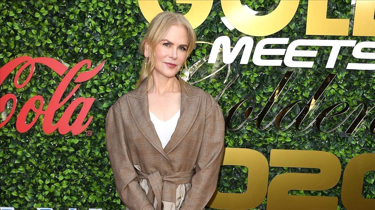 Nicole Kidman, el sábado, 4, en un acato en Los Ángeles (California).