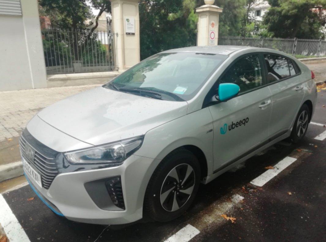 Nuevos vehículos híbridos compartidos de L'Hospitalet