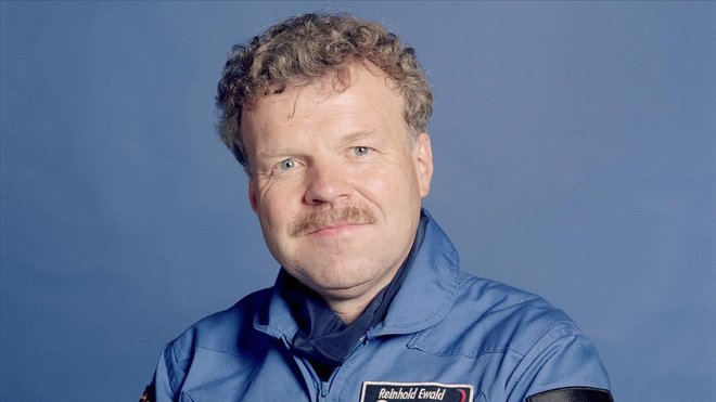 El astronauta Reinhold Ewald.