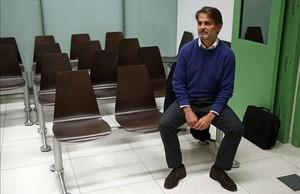 Oriol Pujol, el pasado 16 de noviembre, durante el juicio celebrado en Barcelona.