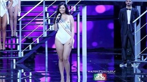 Paola Torrente, modelo curvy ha conseguido el segundo puesto en Miss Italia.