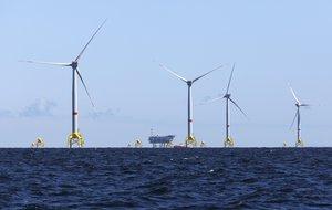 El parque eólico de Iberdrola en el Reino Unido.