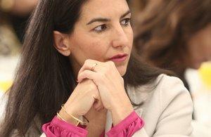 La presidenta de Vox Madrid, Rocío Monasterio.